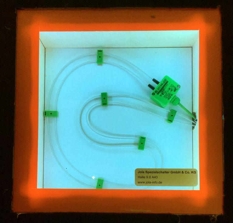 Anwendung der Kabelelektrode KE-SPS4